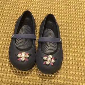 Crocs navy blue size 13